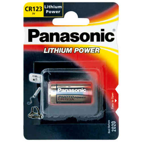 Professsional Lithium Batterie 3V, CR123A
